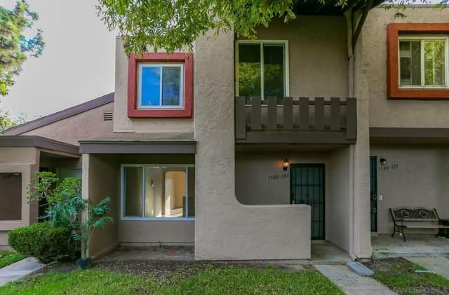 1580 Mendocino Dr #106, Chula Vista, CA 91911 (#210028596) :: Neuman & Neuman Real Estate Inc.