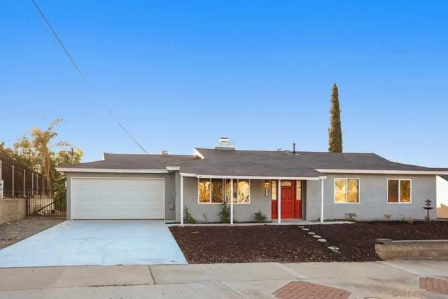1449 Country Crest Dr, El Cajon, CA 92021 (#210028625) :: Windermere Homes & Estates