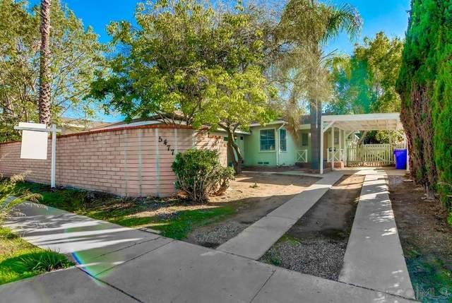 5477 Waring Rd, San Diego, CA 92120 (#210028882) :: Neuman & Neuman Real Estate Inc.