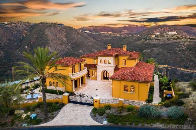 8042 La Milla, Rancho Santa Fe, CA 92067 (#210028992) :: Neuman & Neuman Real Estate Inc.