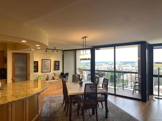 666 Upas St #1403, San Diego, CA 92103 (#210029008) :: Dannecker & Associates