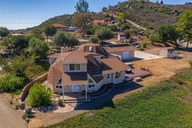 12606 Wildcat Canyon Rd, Lakeside, CA 92040 (#210029046) :: Neuman & Neuman Real Estate Inc.