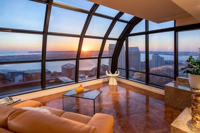 100 Harbor Dr #4002, San Diego, CA 92101 (#210029162) :: SunLux Real Estate