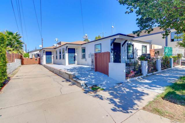 217 W Plaza Blvd, National City, CA 91950 (#210029284) :: PURE Real Estate Group