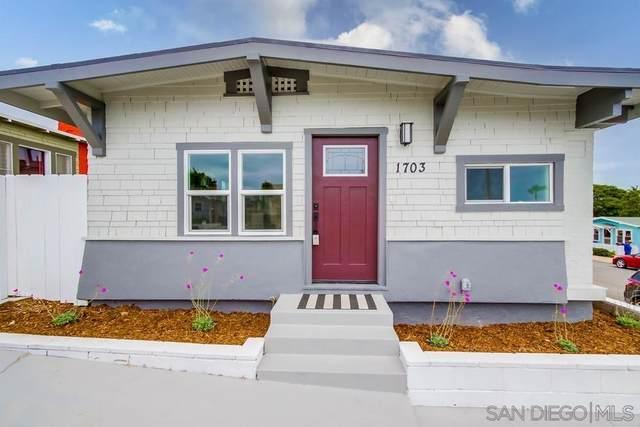 1703 30th St, San Diego, CA 92102 (#210029442) :: Neuman & Neuman Real Estate Inc.