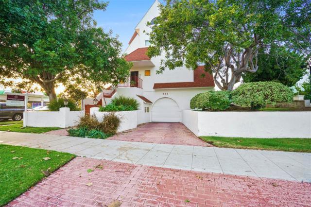 374 Orange Ave A, Coronado, CA 92118 (#180002615) :: Ghio Panissidi & Associates