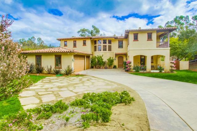 1821 Horseman Ln, Rancho Santa Fe, CA 92067 (#180007576) :: The Yarbrough Group
