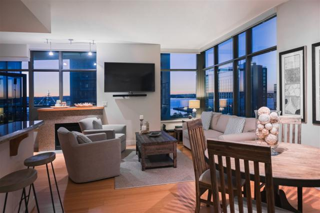 700 W E St #1203, San Diego, CA 92101 (#180010290) :: Whissel Realty