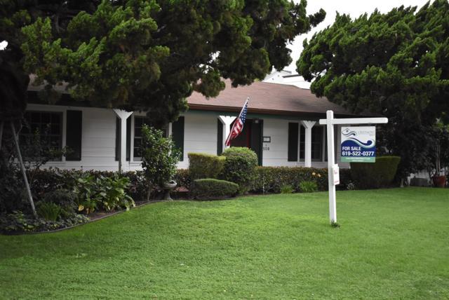 508 Glorietta  Blvd, Coronado, CA 92118 (#180011204) :: The Yarbrough Group