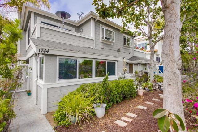 1744 Pacific Beach Dr #1, San Diego, CA 92109 (#180027019) :: The Yarbrough Group