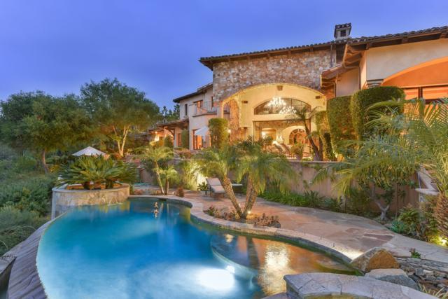 18414 Calle La Serra, Rancho Santa Fe, CA 92091 (#180031627) :: Neuman & Neuman Real Estate Inc.