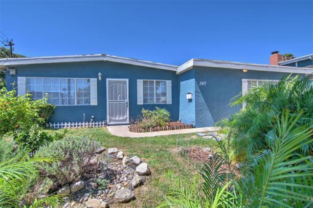 343 Inkopah St, Chula Vista, CA 91911 (#180066798) :: The Yarbrough Group