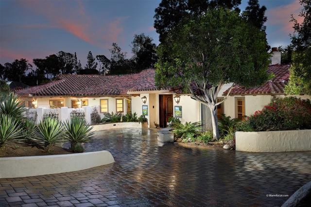 5557 San Elijo, Rancho Santa Fe, CA 92067 (#190014619) :: Be True Real Estate