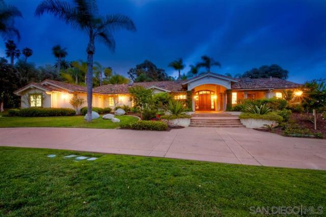 6955 Rancho La Cima Drive, Rancho Santa Fe, CA 92067 (#190028327) :: Coldwell Banker Residential Brokerage