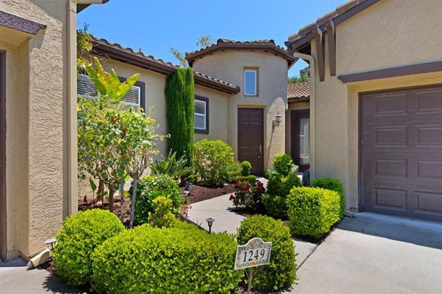 1249 Shadowcrest Ln, Fallbrook, CA 92028 (#190031356) :: Neuman & Neuman Real Estate Inc.