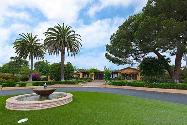 6112 Lago Lindo, Rancho Santa Fe, CA 92067 (#190031961) :: Coldwell Banker Residential Brokerage