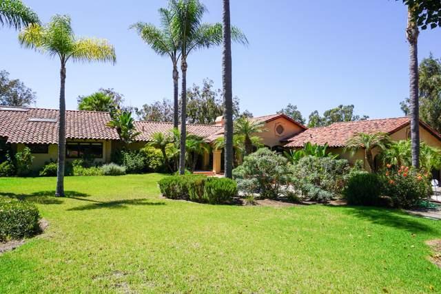 16775 Via De Los Rosales, Rancho Santa Fe, CA 92067 (#190044520) :: Whissel Realty