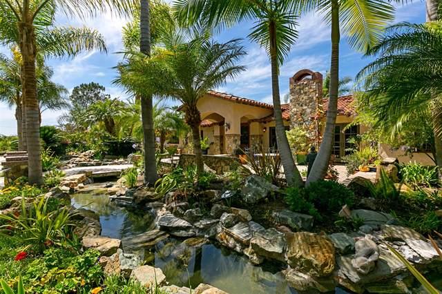 18351 Via De Las Flores, Rancho Santa Fe, CA 92067 (#190045824) :: Neuman & Neuman Real Estate Inc.