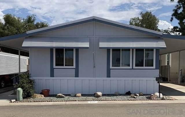 8301 Mission Gorge Road #237, San Diego, CA 92071 (#190049893) :: Allison James Estates and Homes