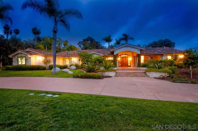 6955 Rancho La Cima Drive, Rancho Santa Fe, CA 92067 (#190052177) :: Keller Williams - Triolo Realty Group