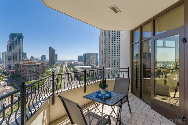 700 W Harbor Drive #1602, San Diego, CA 92101 (#190056346) :: SunLux Real Estate