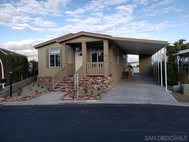 650 S Rancho Santa Fe #244 #244, San Marcos, CA 92078 (#190065499) :: Keller Williams - Triolo Realty Group