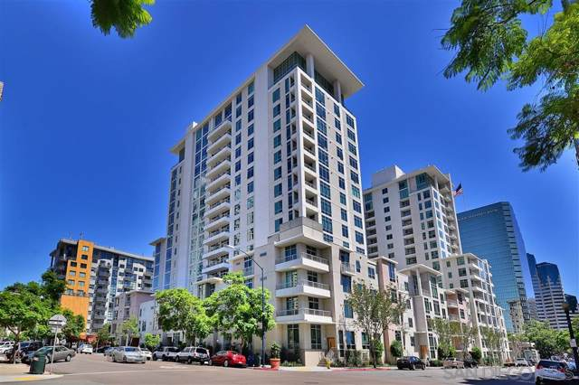 425 W Beech St #1057, San Diego, CA 92101 (#190066051) :: The Yarbrough Group