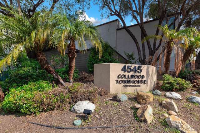 4545 Collwood Blvd #55, San Diego, CA 92115 (#200002699) :: Coldwell Banker West