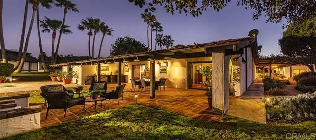 17207 El Vuelo, Rancho Santa Fe, CA 92067 (#200006839) :: Allison James Estates and Homes
