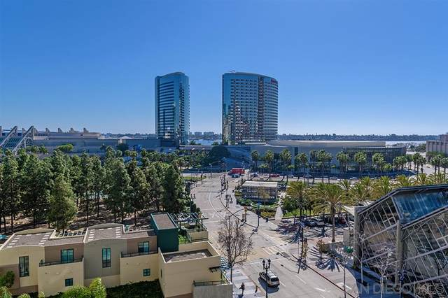 555 Front Street #803, San Diego, CA 92101 (#200009376) :: Cane Real Estate
