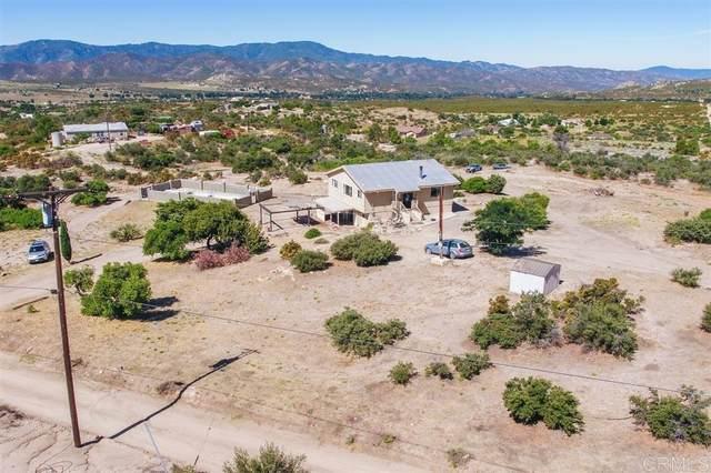37904 Montezuma Valley, Ranchita, CA 92066 (#200016852) :: Keller Williams - Triolo Realty Group