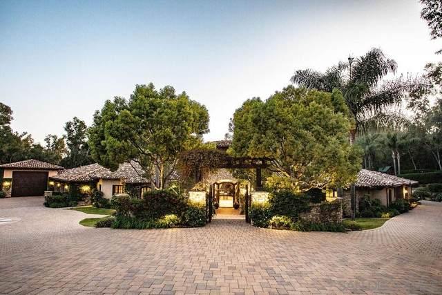 16705 Avenida Arroyo Pasajero, Rancho Santa Fe, CA 92067 (#200022003) :: Neuman & Neuman Real Estate Inc.