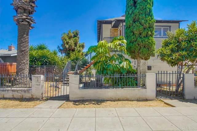2461-2461 1/2 J Street, San Diego, CA 92102 (#200031364) :: Dannecker & Associates