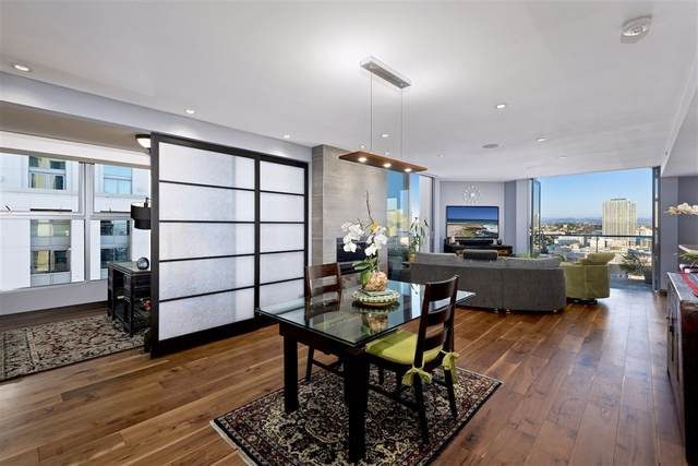 645 Front St #2101, San Diego, CA 92101 (#200034211) :: Whissel Realty