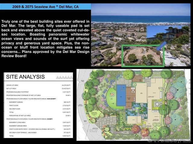 2069 Seaview & 2075, Del Mar, CA 92014 (#200037581) :: Neuman & Neuman Real Estate Inc.