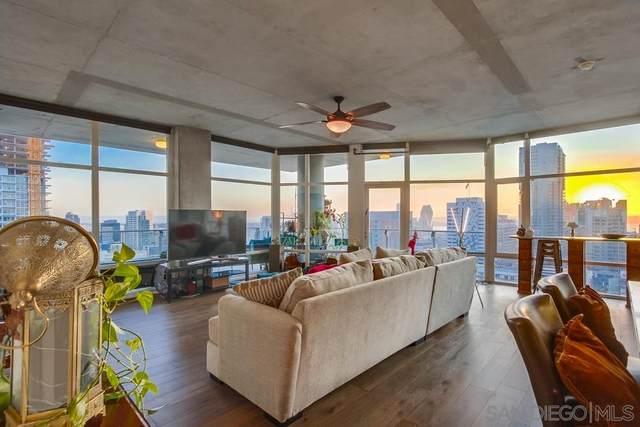 1080 Park Blvd #1801, San Diego, CA 92101 (#200046406) :: SunLux Real Estate