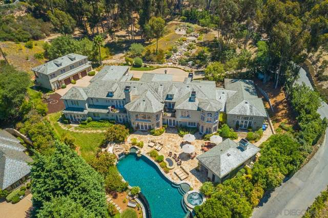 6397 Clubhouse Drive, Rancho Santa Fe, CA 92067 (#210000712) :: SD Luxe Group