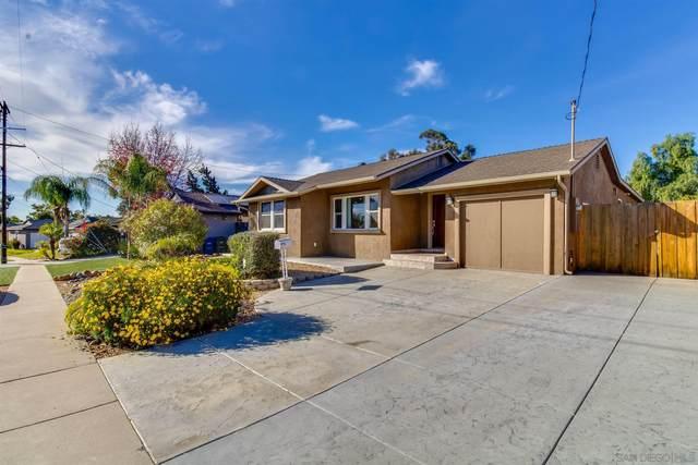 6170 Blain Pl, La Mesa, CA 91942 (#210001183) :: Dannecker & Associates