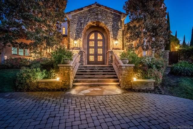 18419 Calle Tramonto, Rancho Santa Fe, CA 92091 (#210001287) :: SD Luxe Group