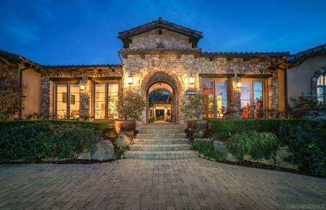 18425 Calle La Serra, Rancho Santa Fe, CA 92091 (#210002162) :: Neuman & Neuman Real Estate Inc.