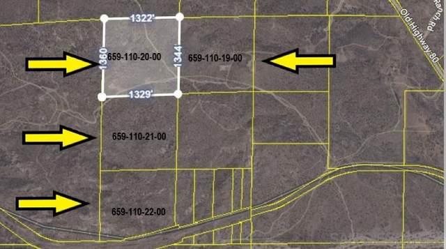 PAR 2 Old Highway 80 Par 2, Jacumba, CA 91934 (#210002445) :: Wannebo Real Estate Group