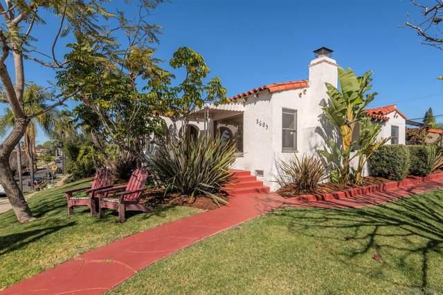 2603 32nd Street, San Diego, CA 92104 (#210004761) :: Carrie Filla & Associates