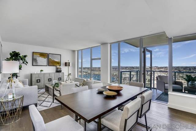 1388 Kettner Blvd. #3502, San Diego, CA 92101 (#210006035) :: Wannebo Real Estate Group