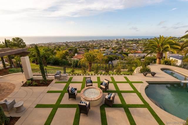 1206 Muirlands Dr, La Jolla, CA 92037 (#210006461) :: Wannebo Real Estate Group