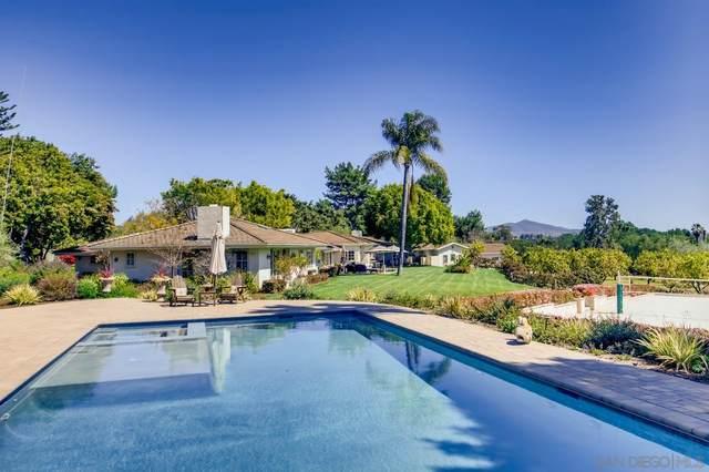 16750 El Zorro Vista, Rancho Santa Fe, CA 92067 (#210008629) :: Neuman & Neuman Real Estate Inc.