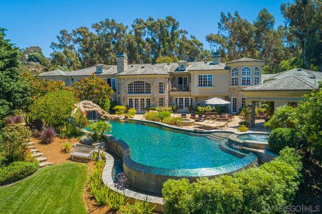 6397 Clubhouse Drive, Rancho Santa Fe, CA 92067 (#210009538) :: SunLux Real Estate