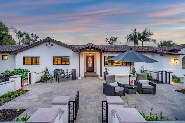 5801 Loma Verde, Rancho Santa Fe, CA 92067 (#210009692) :: Wannebo Real Estate Group