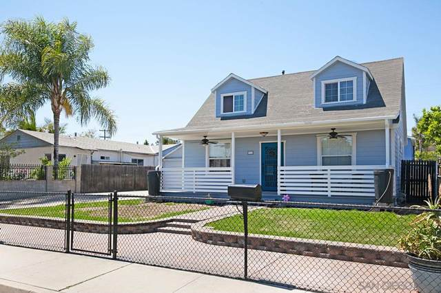 316 Richardson Ave, El Cajon, CA 92020 (#210010362) :: Wannebo Real Estate Group
