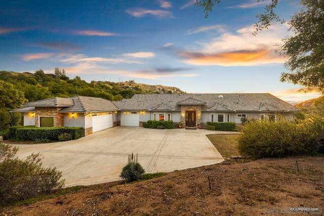 16522 Green Valley Truck Trail, Ramona, CA 92065 (#210011118) :: Keller Williams - Triolo Realty Group