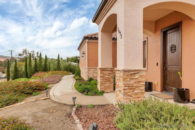 1473 Santa Fe Hills Drive, Ramona, CA 92065 (#210011215) :: Neuman & Neuman Real Estate Inc.